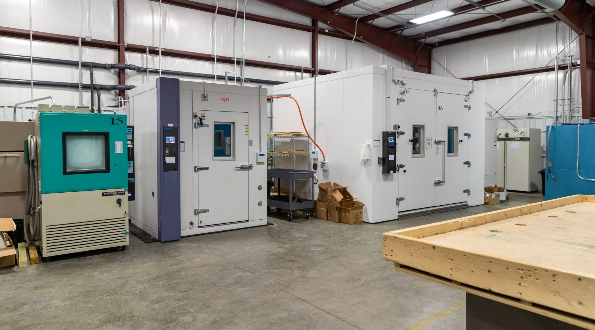Industrial Package Test Lab